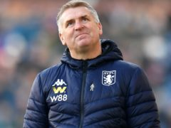 Dean Smith felt Villa were denied a penalty against West Ham because VAR officials were looking at offside against Ollie Watkins (Anthony Devlin/PA Images).