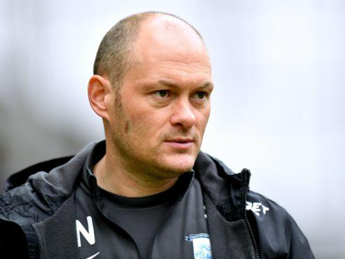 Alex Neil saw Preston lose 2-1 at Rotherham (Anthony Devlin/PA).