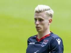 Oli Shaw was on target for Ross County (Jeff Holmes/PA)