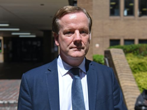 Former Conservative MP Charlie Elphicke leaves Southwark Crown Court in London where he was found guilty of three counts of sexual assault (Kirsty O'Connor/PA)