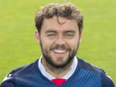 Connor Randall will be missing for Ross County (Ken Macpherson/PA)