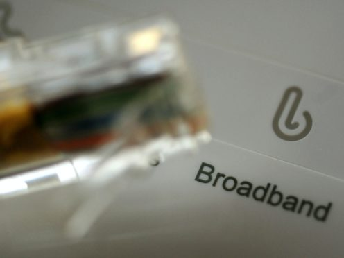 Government climbs down on election commitment of gigabit-capable broadband to every home by 2025, instead aiming for 'a minimum of 85%' (Rui Vieira/PA)