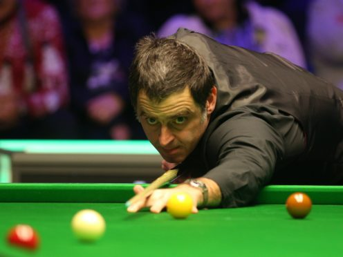 Ronnie O'Sullivan blew into the last eight of the Northern Ireland Open (Nigel French/PA)