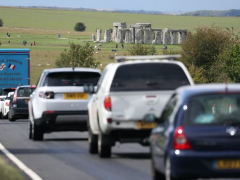Highways England says its plan for a two-mile tunnel will remove the sight and sound of traffic passing the site and cut journey times (Andrew Matthews/PA)