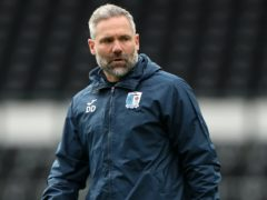Barrow manager David Dunn could look to give some players a breather (Mike Egerton/PA)