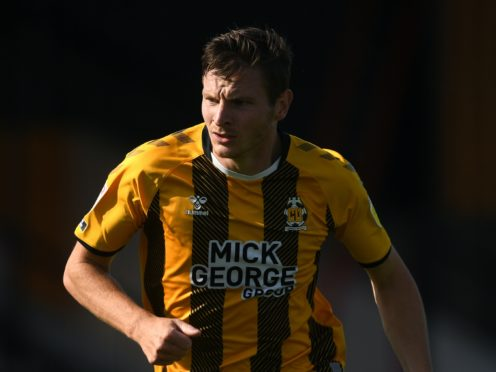 Mark Bonner said Paul Mullin's goal was his most important for Cambridge (Joe Giddens/PA)