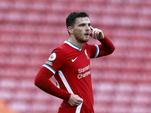 Liverpool defender Andy Robertson believes VAR's lack of consistency is something to be concerned about (Phil Noble/PA)