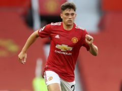 Daniel James is hoping to show his Wales form at Manchester United (Martin Rickett/PA)