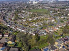 A view of Leverstock Green, Hemel Hempstead. The average fee on a fixed-rate mortgage is at an eight-year high, according to Moneyfacts (PA)