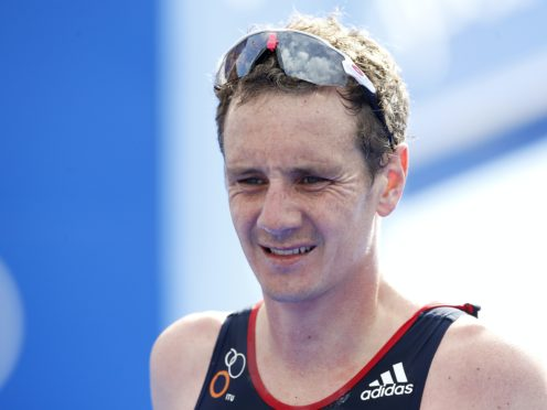 Alistair Brownlee is facing a race against time to defend his title in Tokyo (Martin Rickett/PA)