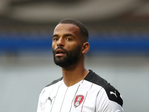 Rotherham defender Michael Ihiekwe is suspended for the visit of Brentford (Martin Rickett/PA)