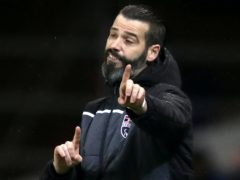 Ross County Stuart Kettlewell not expecting fans on Friday (Jane Barlow/PA)