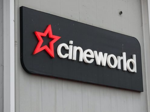 A Cineworld cinema in Feltham, west London, amid reports that the chain is looking at screen closures and rent cuts (Jonathan Brady/PA)