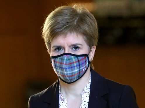 The First Minister said 'woolly words don't pay people's wages' (Andrew Milligan/PA)