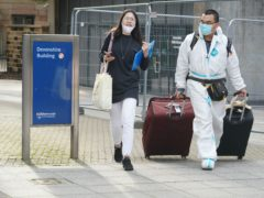 Students arriving at Newcastle University in October. Seven in 10 first-year university students fear the coronavirus pandemic will leave them unable to find part-time work to support their studies, according to Nationwide Building Society (Owen Humphreys/PA)