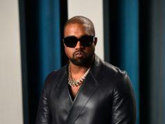 Kanye West (Ian West/PA)