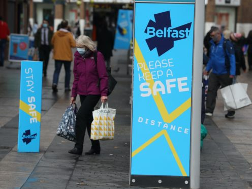 Ministers in Northern Ireland have agreed to shut non-essential retail, pubs and restaurants for two weeks from November 27 (Liam McBurney/PA)