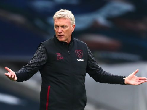 West Ham manager David Moyes is pleased with the competition for places at his club (Clive Rose/PA)