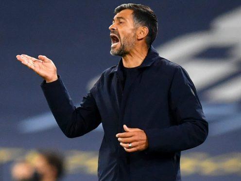 Sergio Conceicao's Porto lost 3-1 at the Etihad Stadium in October (PA)