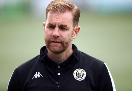 Harrogate manager Simon Weaver is bidding to guide his club to the FA Cup third round for the first time (Tim Goode/PA)