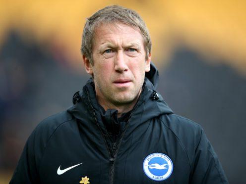 Graham Potter's Brighton host Jurgen Klopp's Liverpool at 12.30pm on Saturday (Nick Potts/PA).
