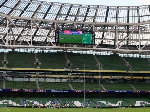 Ireland are preparing to host Georgia at the Aviva Stadium in Dublin (Brian Lawless/PA)