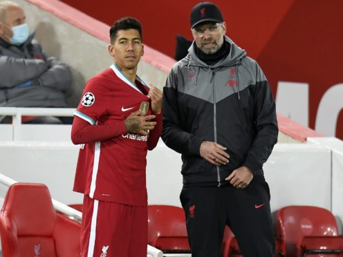 Liverpool manager Jurgen Klopp has underlined the importance of Roberto Firmino to his plans (Shaun Botterill/NMC Pool)