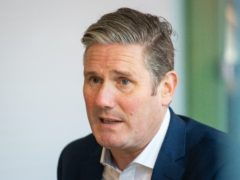 Labour Party leader Sir Keir Starmer (Dominic Lipinski/PA)