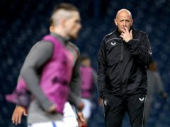 Gary McAllister wants Rangers peripheral players to impress (Andrew Milligan/PA)