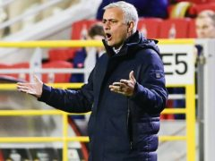 Jose Mourinho has been given a suspended ban by UEFA (PA via Belga)