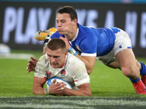 Henry Slade (white shirt) wants a triumphant spell to continue, Marco Lacobucci/PA