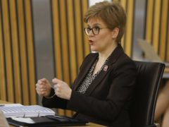 The First Minister appeared at a Holyrood committee (Andrew Cowan/Scottish Parliament/PA)
