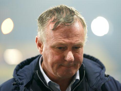 Michael O'Neill's Stoke suffered a controversial defeat at Watford (John Walton/PA)