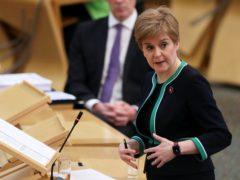 Nicola Sturgeon said hospitals are under 'intense pressure' (Russell Cheyne/PA)