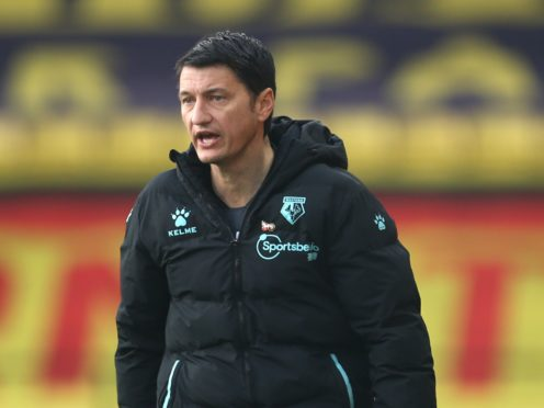 Vladimir Ivic's side are second in the table (Steven Paston/PA)