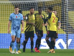 Ismaila Sarr was the hero for Watford (Steven Paston/PA)