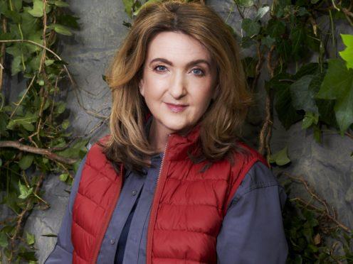 Victoria Derbyshire on I'm A Celebrity (ITV/PA)