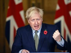 Boris Johnson will attend two G20 events remotely from Downing Street over the weekend (Tolga Akmen/PA)