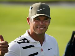 Paul Casey holds the clubhouse lead in the 84th Masters (AP Photo/Matt Slocum)
