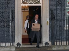 Prime Minister Boris Johnson's top aide Dominic Cummings leaves 10 Downing Street (Yui Mok/PA)