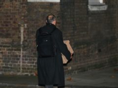 Prime Minister Boris Johnson's top aide Dominic Cummings leaves Downing Street (Yui Mok/PA)