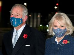 The Prince of Wales and the Duchess of Cornwall arrive at Berlin (Tim Rooke/PA)