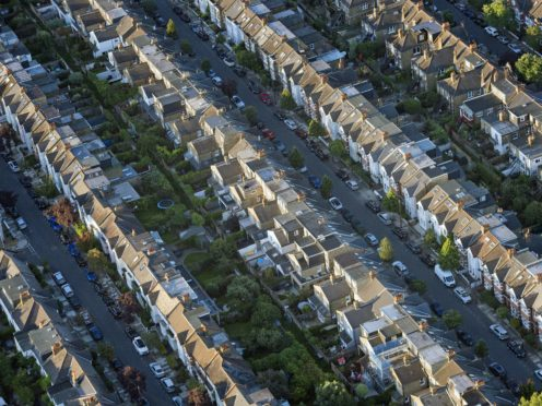 Around 105,630 home sales took place in October, marking the highest number of transactions for that month of the year since 2015, according to figures from HM Revenue and Customs (PA)