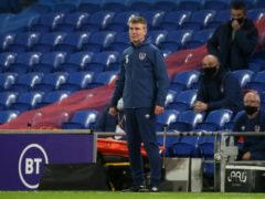 Republic of Ireland manager Stephen Kenny has told his players not to feel sorry for themselves (Nick Potts/PA)