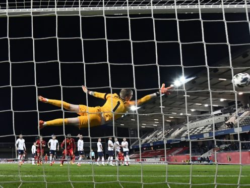 England slid to Nations League defeat in Belgium (Dirk Waem/Belga/PA)