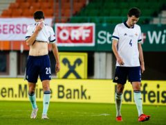 Northern Ireland have suffered relegation from their Nations League group (Florian Schrotter/PA)