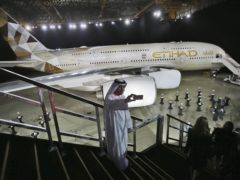 Etihad Airways is to start operating daily non-stop flights to Tel Aviv (AP)