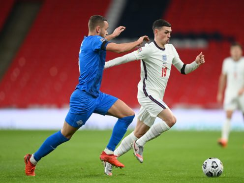 Phil Foden starred for England at Wembley (Michael Regan/PA)