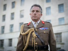 Chief of Defence Staff General Sir Nick Carter was speaking after the announcement of further defence spending (Stefan Rousseau/PA)
