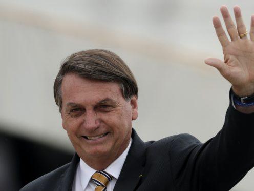 Brazil's President Jair Bolsonaro (Eraldo Peres/AP)